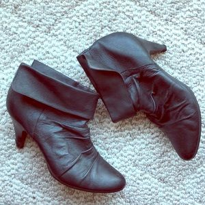 Kelly and Katie Leather Bootie